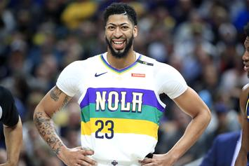 "Anthony Davis Calls Himself ""The Best Player In The League"""