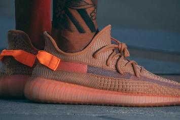 """Adidas Yeezy Boost 350 V2 """"Clay"""" On-Foot Images Surface"""