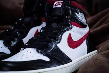 "Air Jordan 1 ""Gym Red"" Fresh New Images Surface"