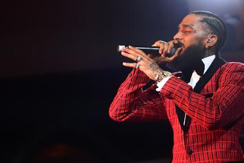 Nipsey Hussle Talks Joint Project With Meek Mill, Artists He'd Like To Work With, & More