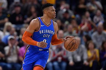 """Russell Westbrook Threatens Heckler In Utah: """"I'll F*ck You Up"""""""
