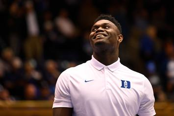 Zion Williamson Expected To Play In ACC Tournament Tonight: Report