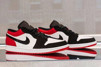 "Air Jordan 1 Low ""Black Toe"" Will Release In The Summer"