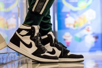 "Air Jordan 1 ""Panda"" Set To Debut In April: New Images"
