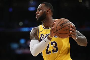 "LeBron James Compliments The Lakers, Says They ""Cater To The Players"""