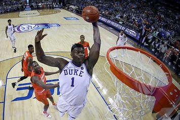 """CBS Using """"Zion Cam"""" For NCAA Tournament: """"We're Monitoring Zion 24-7"""""""