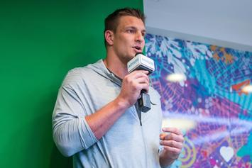 Rob Gronkowski Gets Roasted On WWE Monday Night Raw: Video