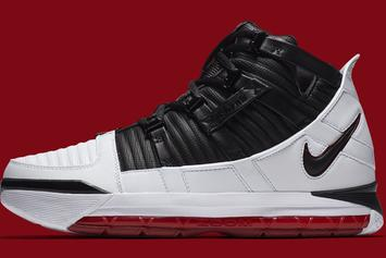 "Nike Zoom LeBron 3 ""Home"" Official Images & Release Details"