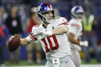 """Eli Manning Is """"Still A Quality NFL Quarterback"""" According To Giants GM"""