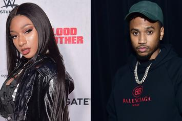 Megan Thee Stallion Suffers Wardrobe Malfunction While Dancing For Trey Songz