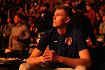 Kristaps Porzingis Accused Of Rape By Woman In New York: Report