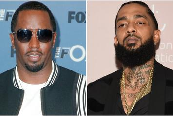 "Diddy Shares Video Of Studio Time With Nipsey Hussle: He's What ""Our Culture Needs"""