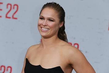 """Ronda Rousey Posts Mugshot After Being """"Arrested"""" On Monday Night Raw"""