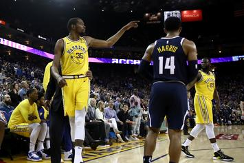 "Kevin Durant Calls Ref ""B****-A** M***erF***er"" After Ejection"