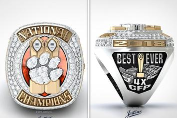 Clemson Throws Subtle Shade At Alabama With New Championship Rings