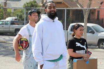 """L.A. Gangs Came Together For """"Unity Walk"""" To Honor Nipsey Hussle & Discuss Truces"""