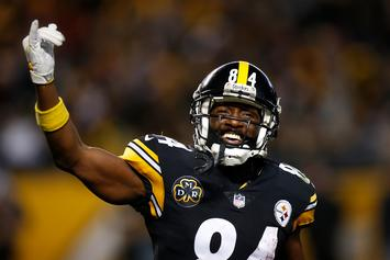 "Antonio Brown Slams JuJu Smith-Schuster: ""Boy Fumbled The Whole Post Season"""