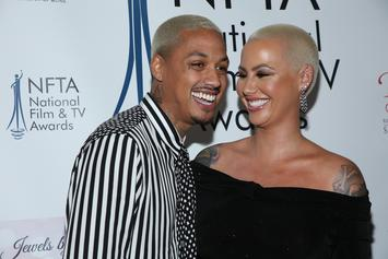 Amber Rose Reportedly Suffering From Extreme Nausea & Vomiting During Pregnancy