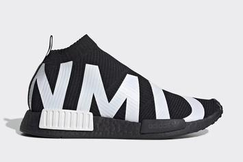 Adidas NMD City Sock Dressed In Bold Branding: Details