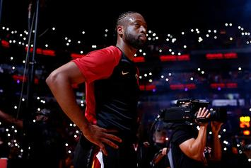 "Budweiser Unveils Emotional Dwyane Wade ""Jersey-Swap"" Commercial: Video"