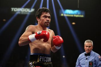 Manny Pacquiao Signs Deal With Floyd Mayweather Collaborator Rizin