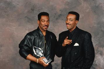"""Eddie Murphy & Arsenio Hall Reunite For First Fittings Of """"Coming To America 2"""""""
