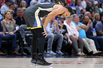 Steph Curry Injures Foot Against The Pelicans, Expected To Be Okay