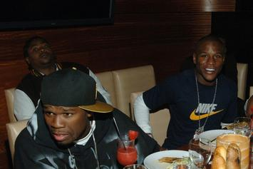 "50 Cent Clowns Floyd Mayweather Over Showdown With ""Filipina In Manila"""