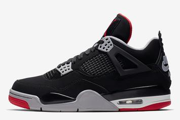 "Air Jordan 4 ""Bred"" Release Date Confirmed: Official Images"