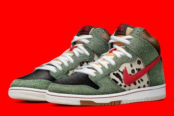"Nike SB Dunk High ""Dog Walker"" Releasing For 4/20: Official Photos"