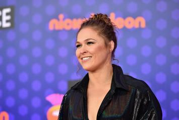 "Ronda Rousey Says She's On An ""Impregnation Vacation"" After Breaking Hand"