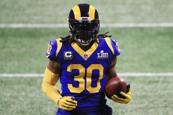 """Todd Gurley Offers An Update On His Knee: """"It's Feeling Pretty Good"""""""