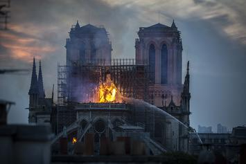 Apple CEO, Louis Vuitton & Gucci Owners Pledge Money To Rebuild Notre Dame Cathedral