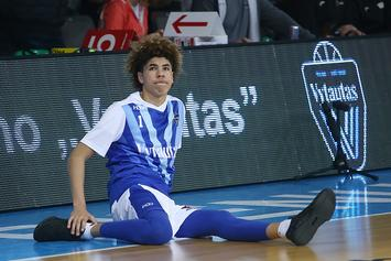 LaMelo Ball Gets Massive Chest Tattoo: Photos