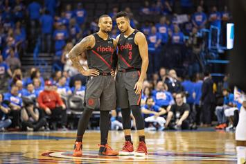 CJ McCollum Says Last Year's Sweep Is What's Motivating The Trail Blazers