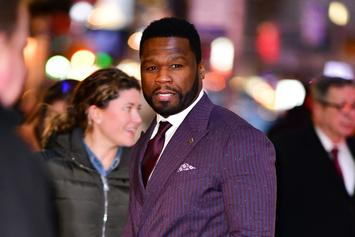 """50 Cent Disses Hater Who Mentioned His Oldest Son: """"Go Suck A D*ck"""""""