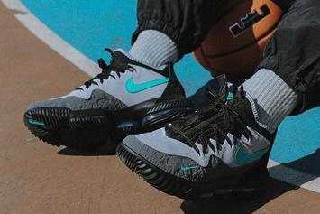 """Atmos x Nike LeBron 16 """"Clear Jade"""" Collab Releasing This Weekend"""