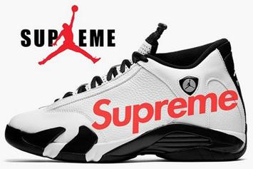 Supreme x Air Jordan 14 Rumored To Release In Two Colorways