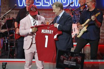 "Kyler Murray Drafted First Overall By The Arizona Cardinals: ""I Cannot Wait"""