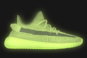 "Adidas Yeezy Boost 350 V2 ""Glow"" Release Date Announced"