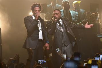 Jay-Z Brings Out Nas, Cam'ron, Jim Jones At Iconic Webster Hall Re-Opening
