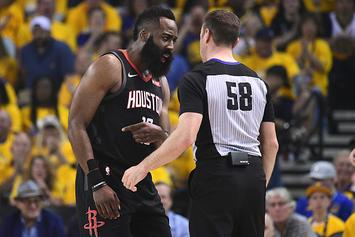 "Rockets Preparing ""Data-Driven Case"" That Warriors Receive Officiating Advantage"