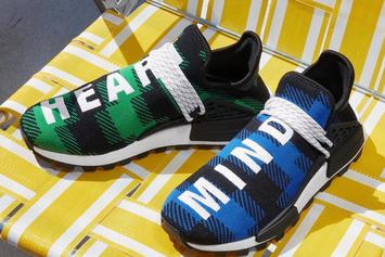 Pharrell Adidas NMD Hu X BBC Releasing In Plaid Colors This Friday: Photos