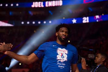 Joel Embiid Requires Six Treatments Per Day For Knee Injury: Report
