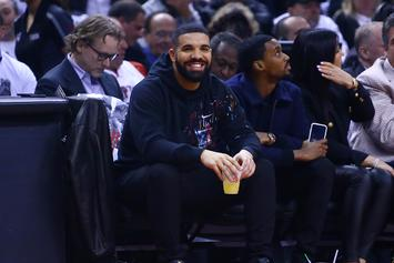 Drake Trolls The 76ers By Questioning The Michael Rubin Curse