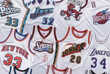 "Mitchell & Ness Launch ""Platinum Collection"" Of Classic NBA Jerseys, Shorts"
