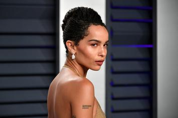 Zoe Kravitz Is A Done-Up Beauty Queen For InStyle's June Cover