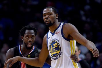 "Kevin Durant ""Is The Best Player In The NBA,"" Says Patrick Beverley"