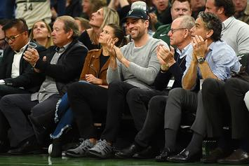 Bucks Fan Shoots His Shot At Danica Patrick Right In Front Of Aaron Rodgers