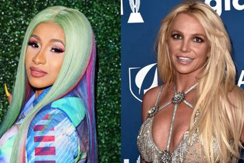 """Cardi B Sends Message To Britney Spears: """"I Love You & Totally Understand"""""""